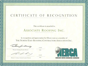 Associate Roofing Certification