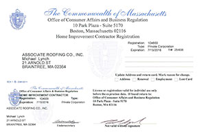 MA Home Improvement License